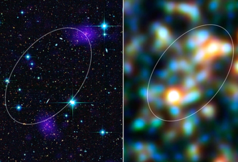 The Herschel Space Observatory has discovered a giant, galaxy-packed filament ablaze with billions of new stars.