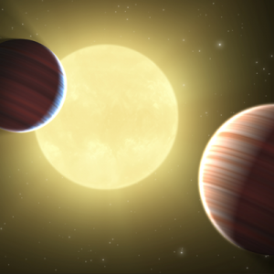 Kepler planets close together