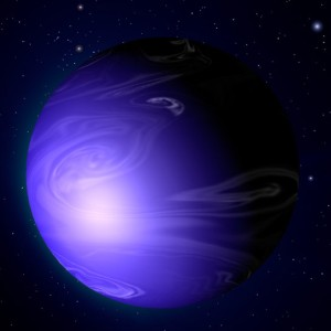 Hubble-Discovers-a-Blue-Planet-HD-189733b